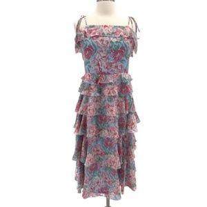 Wayf Essie Tiered Floral Dress